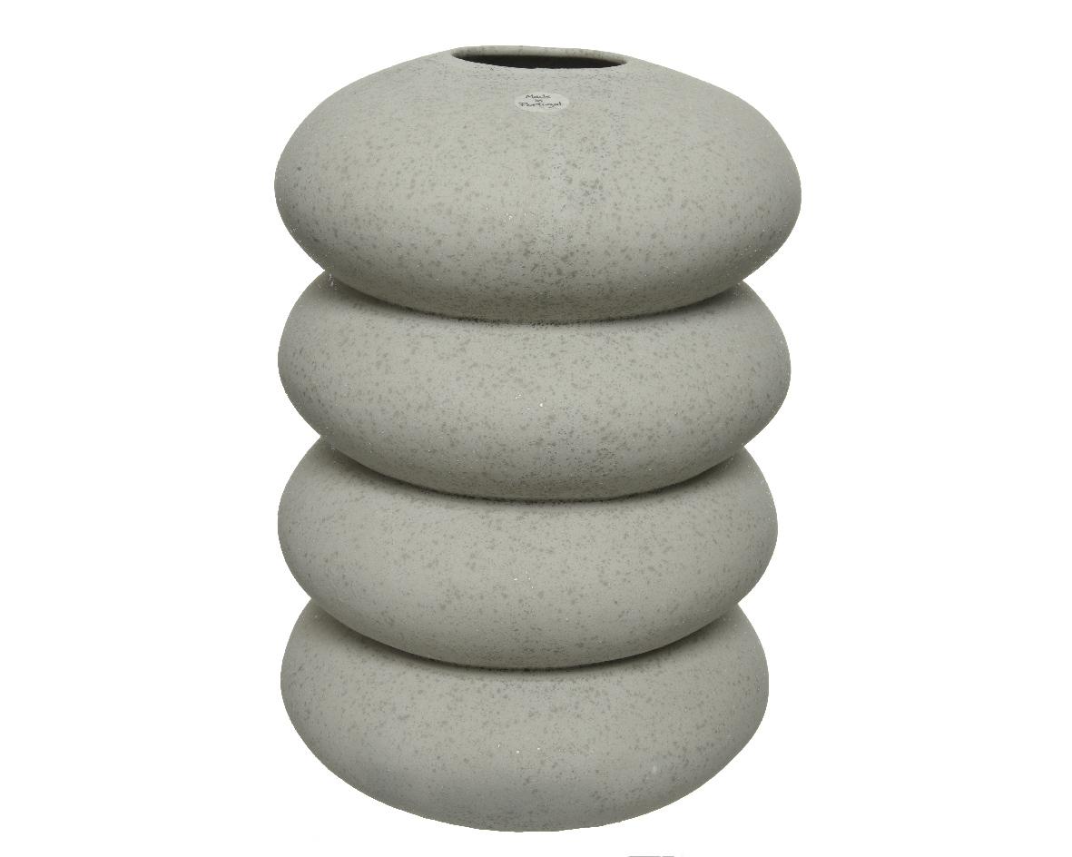 vase stacked stones
