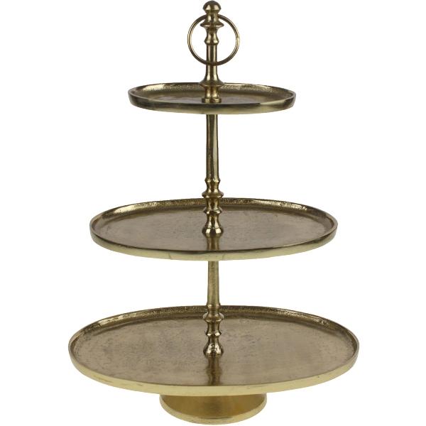 three tier plate
